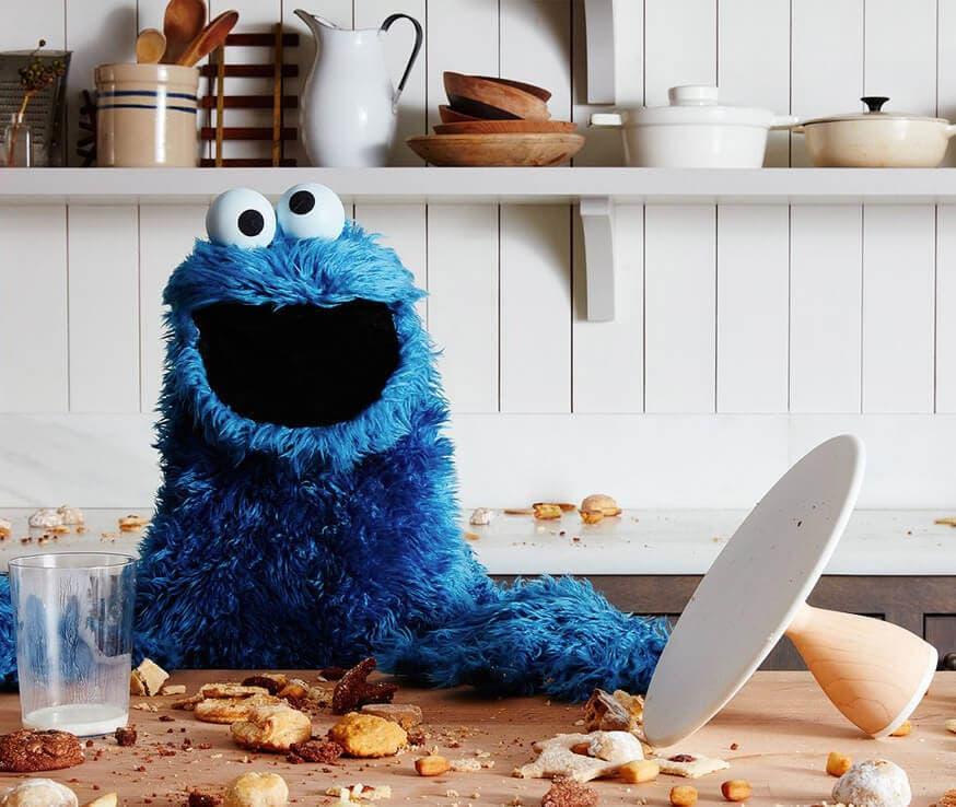 cookie monster tile