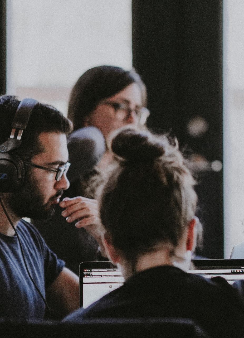 Team working with Drupal, Tealium, Tableau, Azure