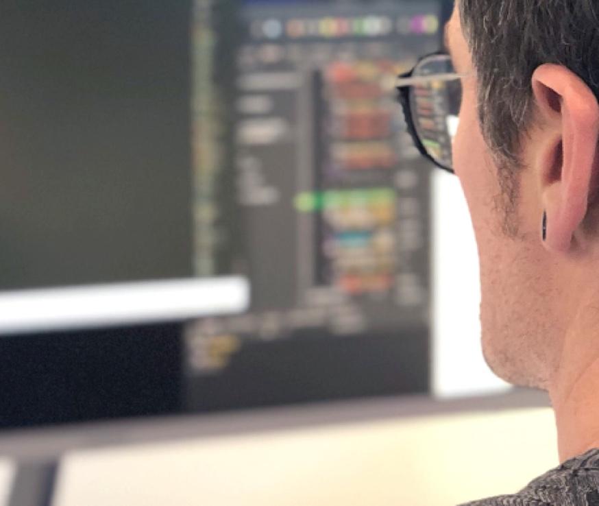 Developer working on drupal CMS