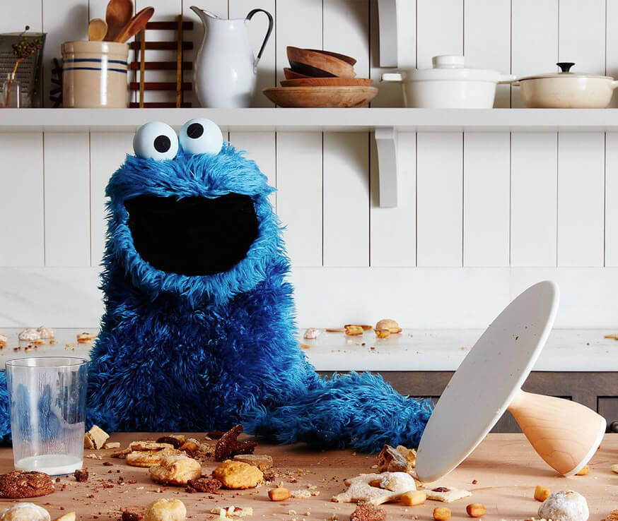 cookie monster tile